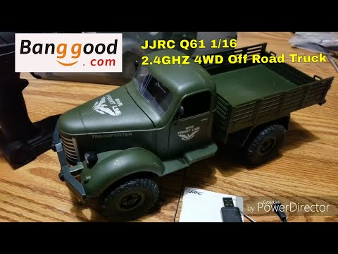 JJRC Q61 1/16 2.4G 4WD Off-Road Military Truck Banggood Review - UCtw-AVI0_PsFqFDtWwIrrPA