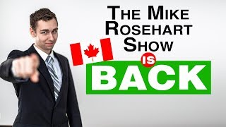 The LIVE Mike Rosehart Show is BACK!! - Real Estate Investing LIVE Q&A!