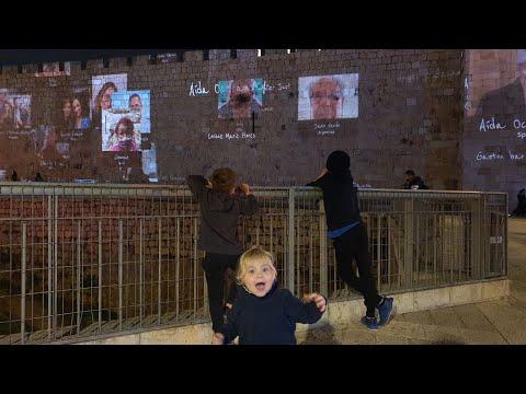 Chanukah Day 4 From Jaffa Gate, Jerusalem