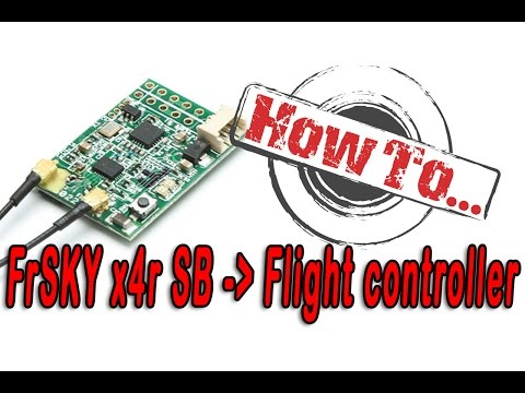 How To: Connect your Frsky SBus Receiver to the flight controller - UCdA5BpQaZQ1QUBUKlBnoxnA