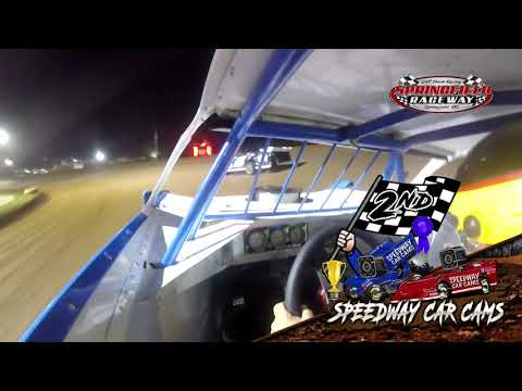#36 Mark Daye - Cash Money Late Model - 9-5-2021 Springfield Raceway - In Car Camera - dirt track racing video image