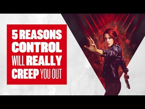 5 Reasons Control Is One Of The Creepiest (And Most Stylish) Games This Year - Control PS4 Gameplay - UCciKycgzURdymx-GRSY2_dA