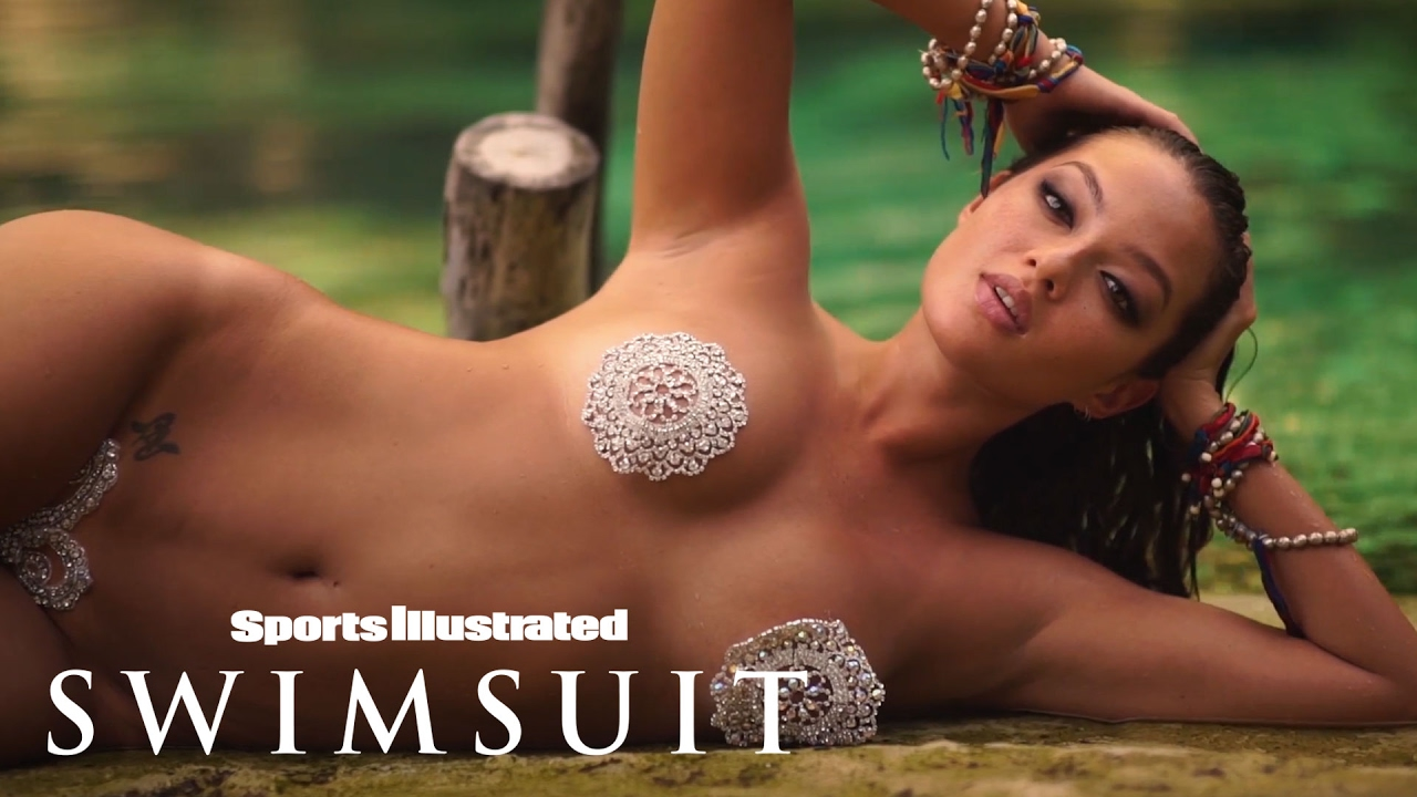 Mia Kang Takes Vajazzling To A New Level   Intimates   Sports Illustrated Swimsuit
