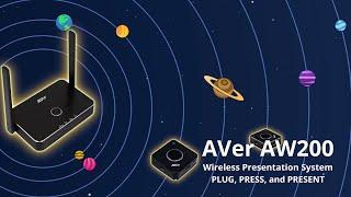 AVer AW200 Wireless Presentation System Intro Video
