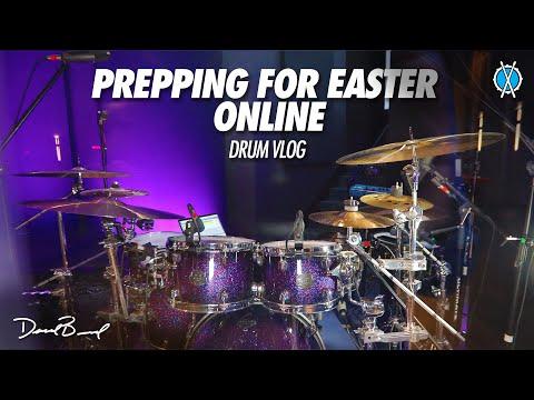 Prepping for Easter Online // Drum Vlog