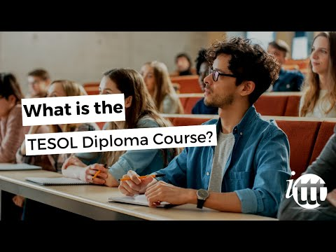 TEFL Diploma - TESOL Diploma