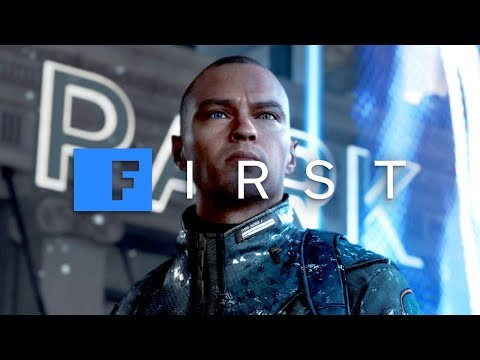 Detroit: Become Human - 'Android Grave' EXCLUSIVE GAMEPLAY SCENE With David Cage - IGN First - UCKy1dAqELo0zrOtPkf0eTMw