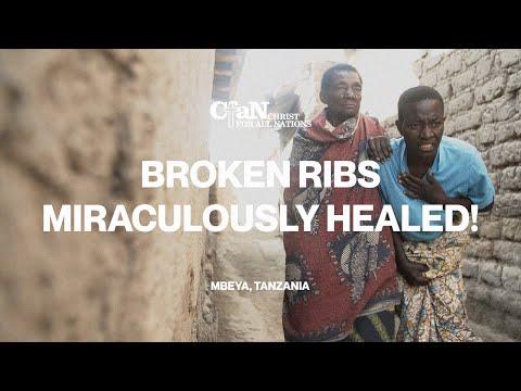 Broken Ribs Miraculously Healed! - Mbeya, Tanzania
