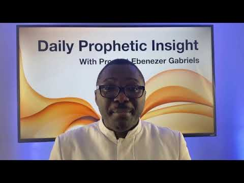 PROPHETIC INSIGHT DECEMBER 15th, 2020
