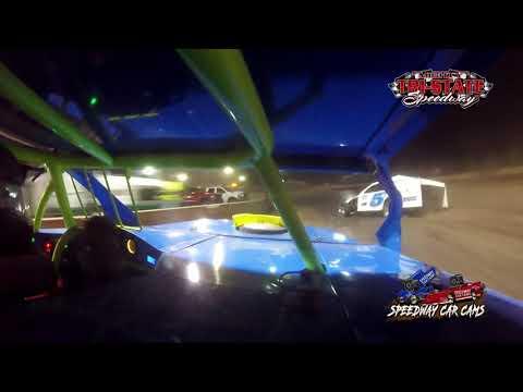 #747 Lonnie Robins Jr - USRA B-Mods - 9-11-2021 Tri-State Speedway - In Car Camera - dirt track racing video image