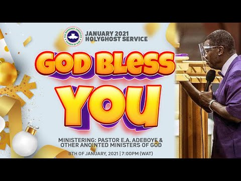 RCCG JANUARY 2021 HOLY GHOST SERVICE - GOD BLESS YOU
