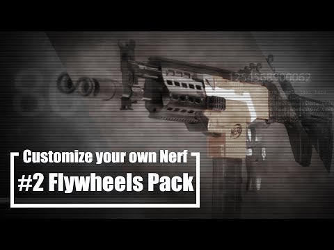CRAZY NERF GUN MODS - update it for more accuracy more power, part #2 Flywheels Pack - WORKER - UC43W_k7OrH_5OxBgIibLCCQ