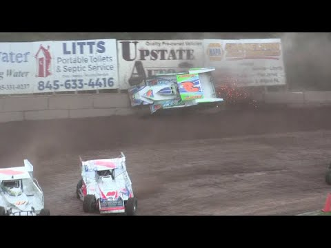 Accord Speedway Modified's and Sportsman 8-6-21 - dirt track racing video image