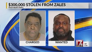 Southern Pines Zales robbed of $300K, employees tied up in bathroom