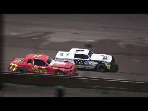 Street Stock B-Feature #2 at Crystal Motor Speedway, Michigan on 09-05-2021!! - dirt track racing video image