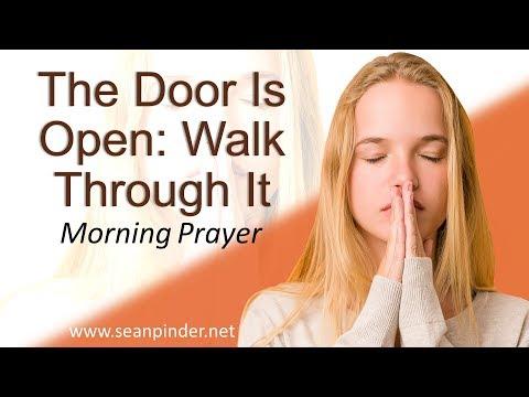 GENESIS 41 - THE DOOR IS OPEN WALK THROUGH IT - MORNING PRAYER (video)