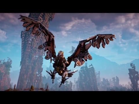 Horizon: Zero Dawn Official The Machines: Stormbird Trailer - UCKy1dAqELo0zrOtPkf0eTMw
