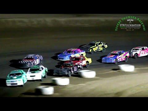 Desert Thunder Raceway IMCA Stock Car Main Event 8/7/21 - dirt track racing video image