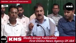 Video: Technical Employees Association of Health addresses presser in Srinagar