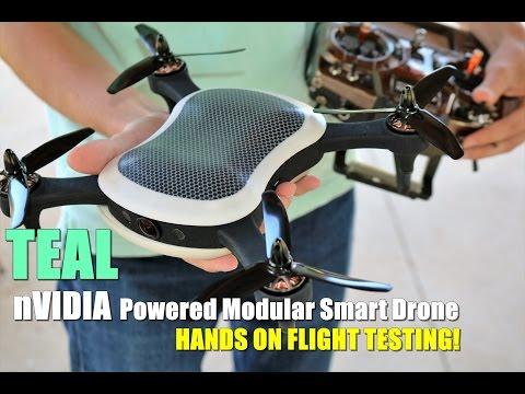 TEAL Hands On Flight Test - nVidia Powered Modular Smart Drone [Pre Production Sneak Peek!] - UCVQWy-DTLpRqnuA17WZkjRQ