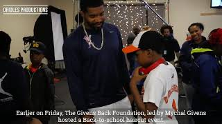 Givens Back Foundation provides back-to-school haircuts for students