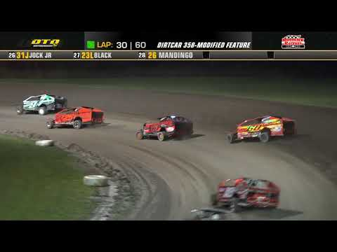 Mohawk International Raceway | DIRTcar 358-Modified Series Feature Highlights | 9/17/21 - dirt track racing video image