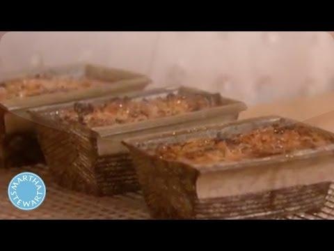 Miniature Golden Fruit Cake - Martha Stewart