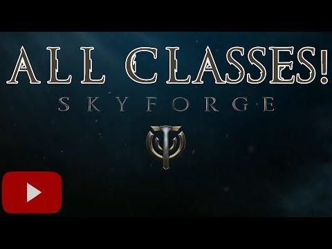 All 13 Skyforge Classes  (Mmorpg) - UC3U7n6NCwkTVYfCjvK7EdSQ