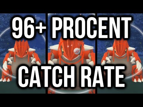 "HOW I GOT A 96%+ CATCH RATE on ""GROUDON"" in Pokémon GO! - default"