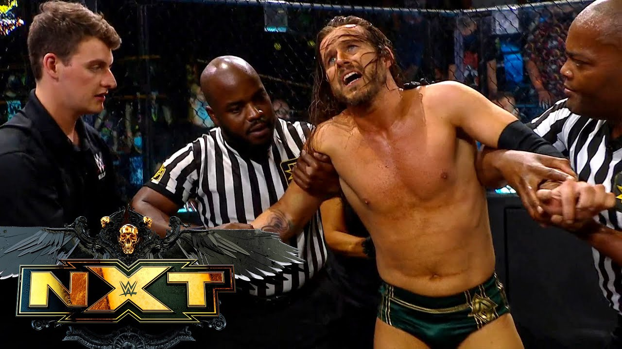 Cole helped from ringside following brutal attack by O'Reilly: WWE NXT Exclusive, July 27, 2021