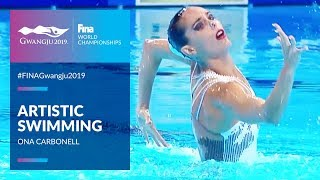Ona Carbonell is the most decorated FINA female athlete | FINA World Championships 2019 - Gwangju