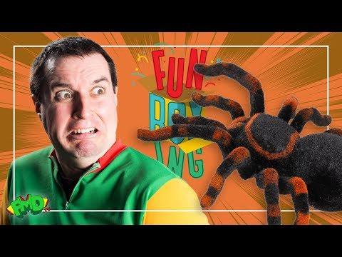 Caution.... Giant Spider
