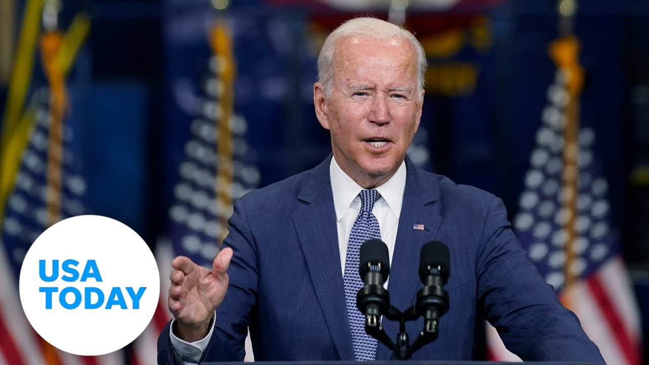 Biden speaks after visiting with Capitol Hill Democrats (LIVE) | USA Today