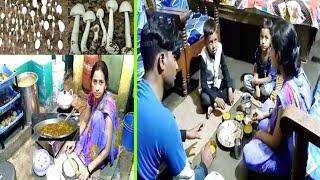 INDIAN FAMILY DINNER ROUTINE Hindi 2019 Natural Mushroom Masala Recipe/ VillAGE LIFE OF INDIA Market