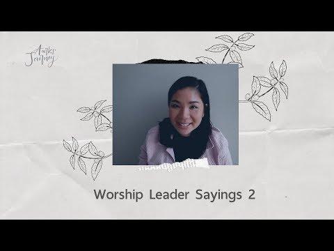 Aarks' Journey - Ep.28 Worship Leader Sayings 2