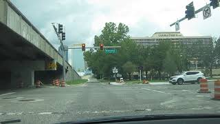 Driving to Daily's Place Amphitheater in Jacksonvile (Fla.) for AEW Fight for the Fallen