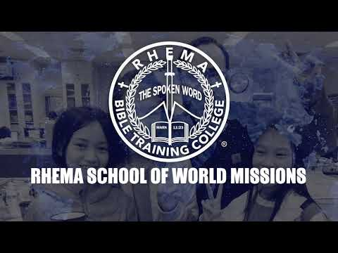 Rhema School of World Missions: See Yourself Here