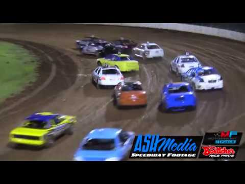 Production Sedans: Aust Grand Prix A-Main Race Highlights - Kingaroy - Nov 2017 - dirt track racing video image