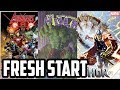 marvel's fresh start - all the new comics - number ones!