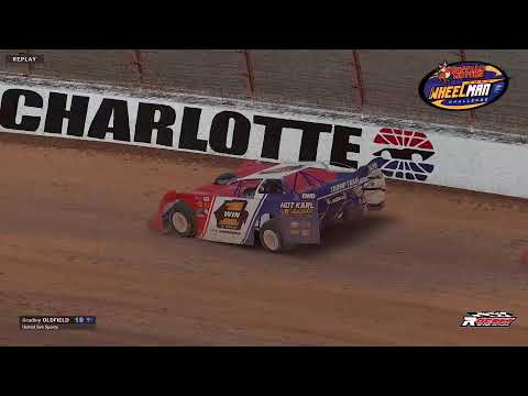 Buffalo Motors Wheelman Challenge Round 6 Super Late Models at Charlotte - dirt track racing video image