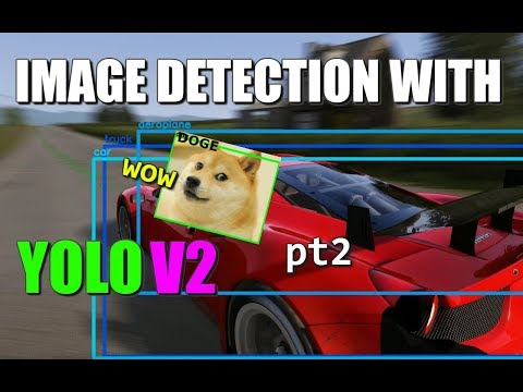 Image Detection with YOLO-v2 (pt 2) Process Image in Python + openCV