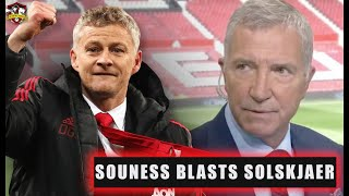 """Graeme Souness """"attacks"""" Solskjaer! Sanchez banned from the first team! Man United News"""