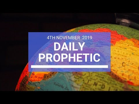 Daily Prophetic 4th November 2019 Word 2
