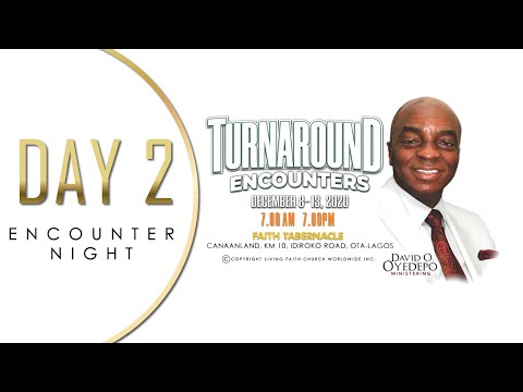 DOMI STREAM: SHILOH 2020  DAY 2  TURNAROUND ENCOUNTERS  ENCOUNTER NIGHT