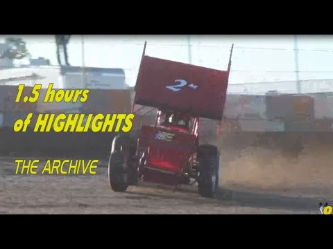 DIRT Track Crashes, Victories ...Fun. @ The BIG O The Archive - dirt track racing video image
