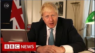 Boris Johnson: Brexit opponents 'collaborating' with EU - BBC News