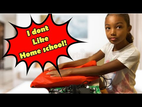 TIANA IS GETTING READY FOR HOME SCHOOL - DURING A PCS MOVE !