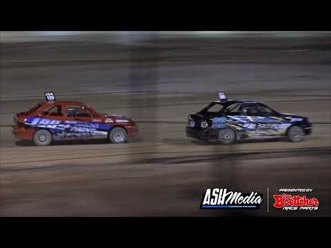 Junior Sedans: Top Stars Ivix South West Champs - A-Main - Manjimup Speedway - 28.11.2020 - dirt track racing video image