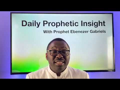 Prophetic Insight February 14th 2021