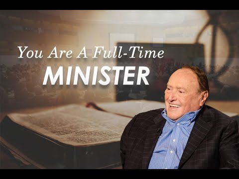 REDEFINING WHO IS A FULL TIME MINISTER!